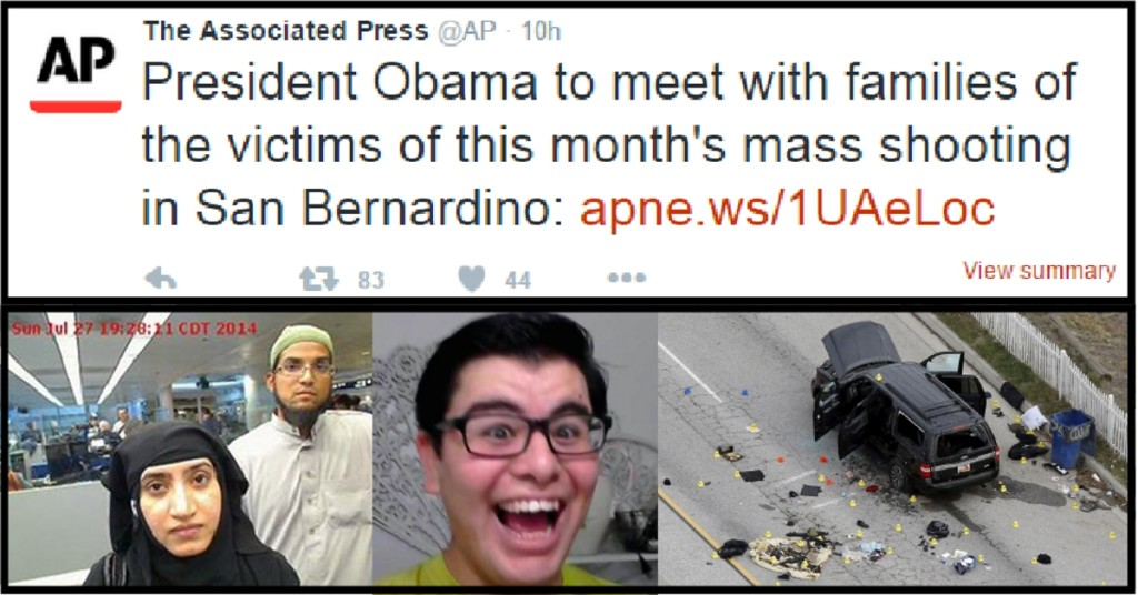 AP says San Bernardino is mass shooting