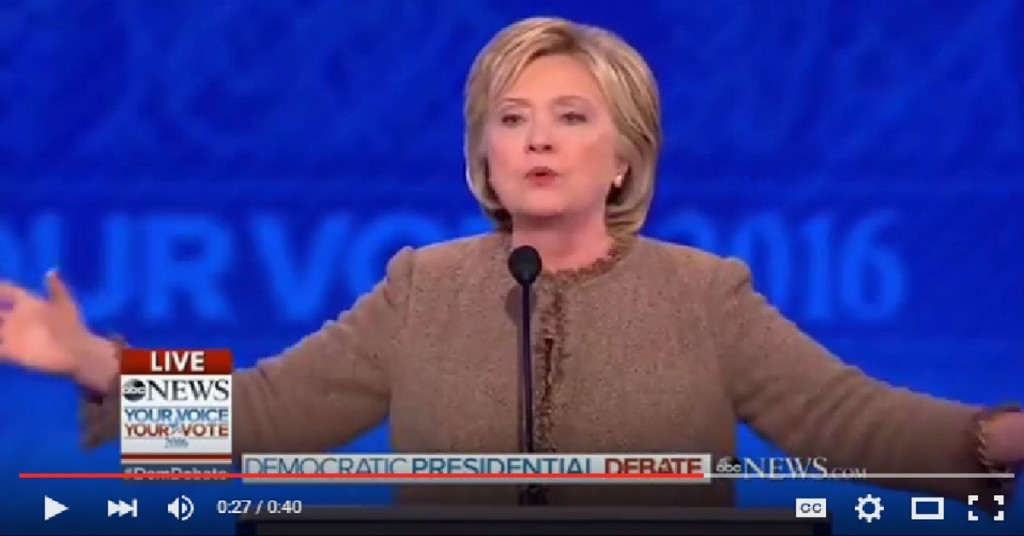 Hillary on ISIS we are where we need to be