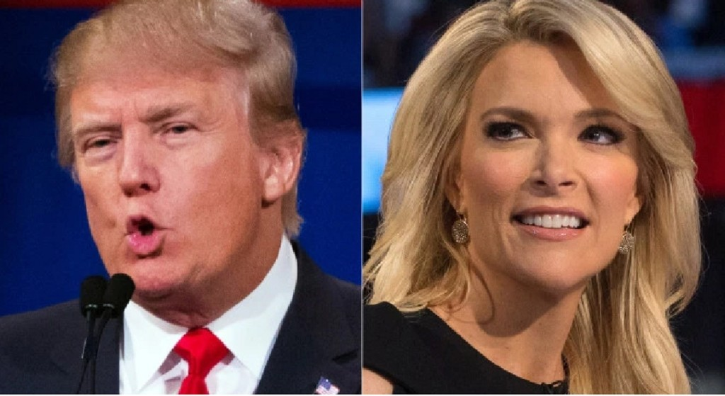 Megyn kelly and donald trump